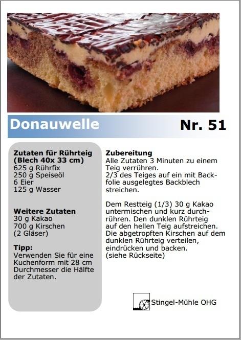 Rezept Fur Donauwelle Gratis Mitbestellen